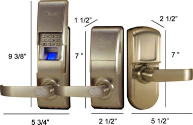 1touch iq2 indoor outdoor fingerprint door lock pin code for 1 touch door lock